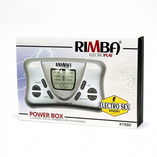 Rimba - Electro Sex Powerbox set met LCD display