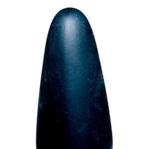 True Black Vibrating Anal Plug