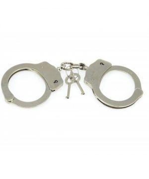 Metalen politie handboeien 265 gram