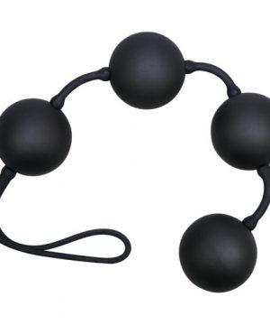 zwarte Love Balletjes met 4 ballen