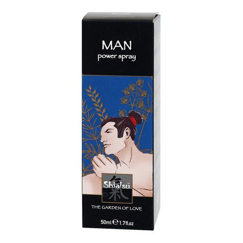 Shiatsu verfrissende penis spray
