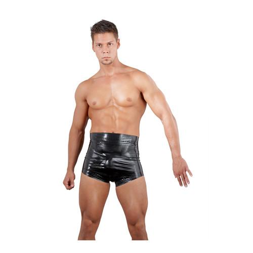 Latex boxershort taille hoog