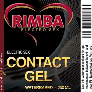 Electro Sex Contact gel, voor een optimaal contact - Waterbasis #3000