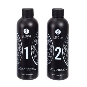Shunga - Massage Gel Aardbei & Champagne