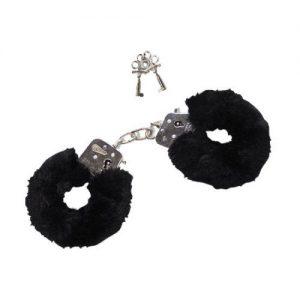 Furry Love Cuffs - Zwart