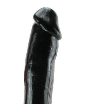 Zwarte Dildo met zuignap