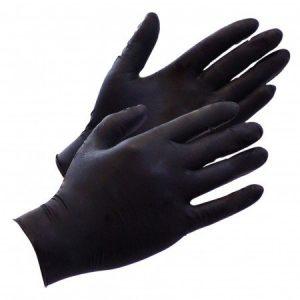 Black Ninja Latex wegwerphandschoenen (100 st.) #7289