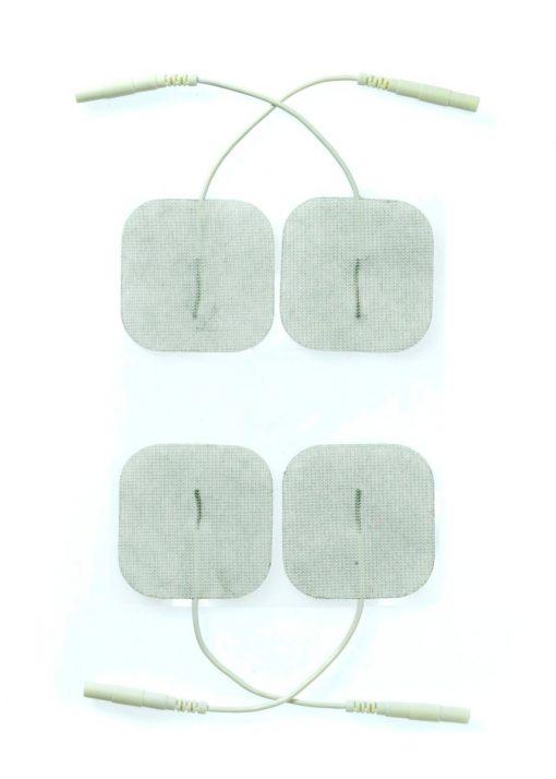 Electro Sex Plakpads, uni-polair, (per 4 stuks verpakt) #7858