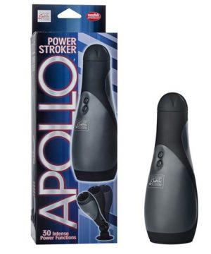 Luxe vibrerende masturbator zwart