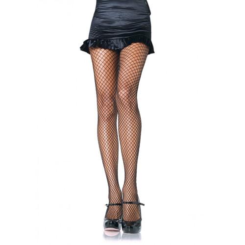 Lycra Visnet Panty - Zwart