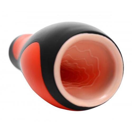 Vibrerende automatische masturbator - Rood