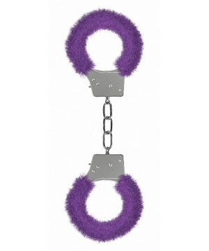Beginners Handcuffs Furry Purple