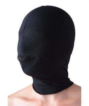 Zippered Eyeless Hood