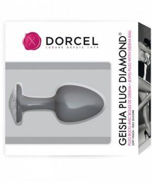 Dorcel Geisha Plug met Diamant M - 6071229