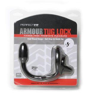 Armour Tug Lock Small - Zwart