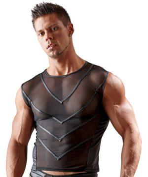 Netstof Shirt Met Wetlook Achterkant