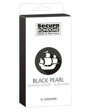 Secura Black Pearl Condooms - 12 Stuks