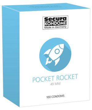 Secura Pocket Rocket Condooms - 100 Stuks