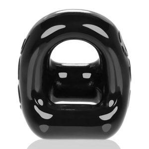 360 Cockring & Ballsling - Zwart