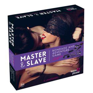 Master & Slave Bondagespel - Paars