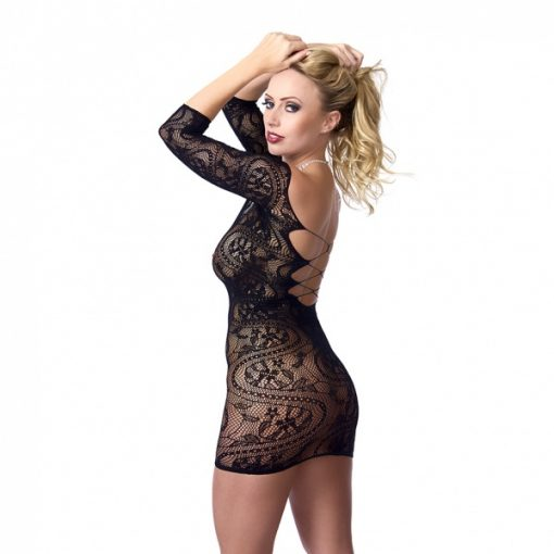 Kanten mini-jurkje - Rimba