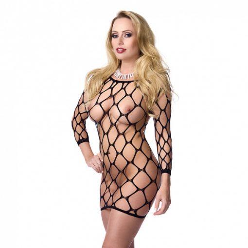 Mini-jurkje met grote gaten - Rimba