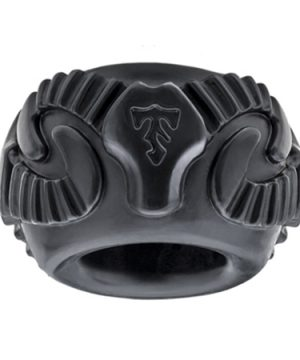 Tribal Son Ram Ring - Zwart
