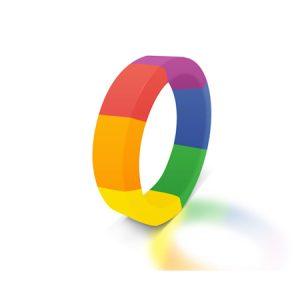The Brawn Pride Cock- En Ball Ring