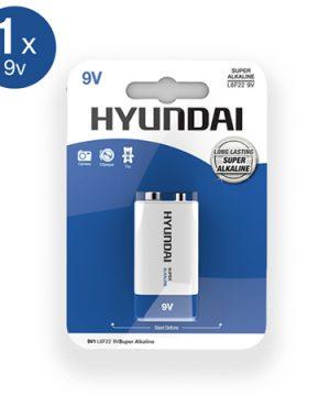 Super Alkaline 9V Batterij