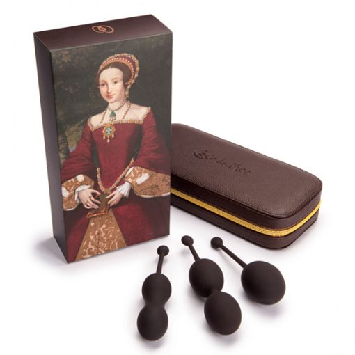 Coco de Mer - Catherine Pleasure Balls Set Brown