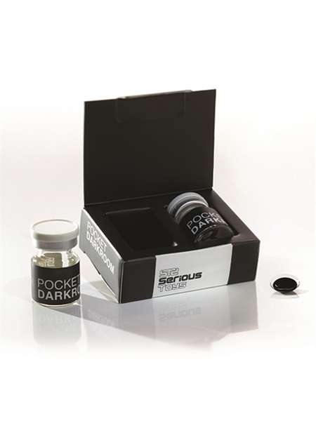 Pocket Darkroom Black Contact Lenses