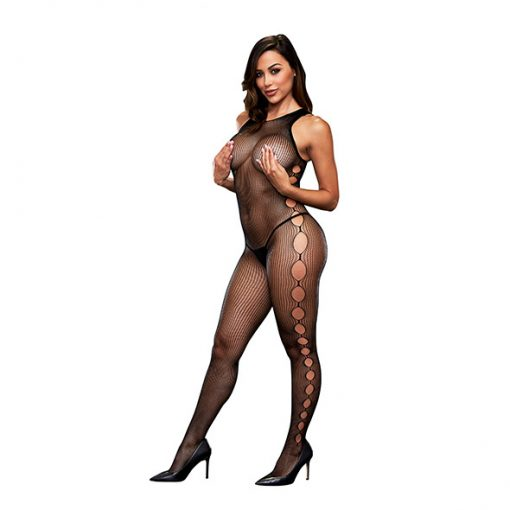 Baci - Open Side Sleeveless Bodystocking