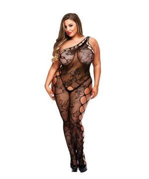Baci - Off the Shoulder Bodystocking