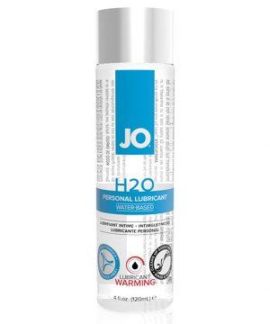 System JO - H2O Glijmiddel Warm 120 ml