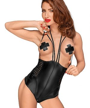 Wetlook body with multistraps