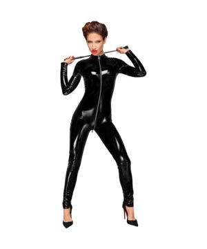 Long sleeved PVC catsuit