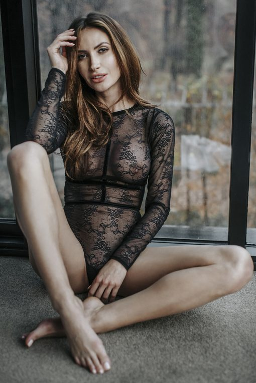 Noir Handmade Lace Body