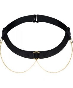 Choker with golden chains
