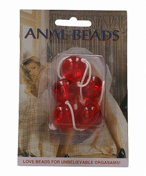Anal Beads - Red