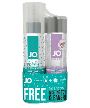 System JO - Agape & Misting Toy Cleaner