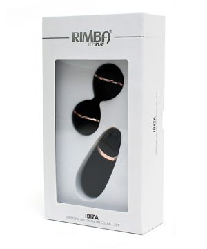 Rimba - Ibiza - Vibrating Lay-on + Kegelball set