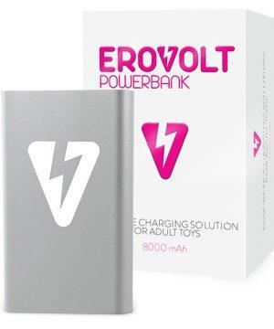 EroVolt PowerBank - Zilver