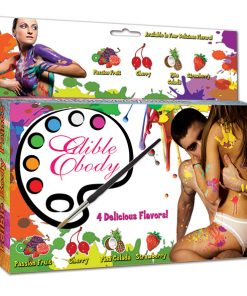 Eetbare Body Paints