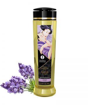 Shunga - Massage Olie - Sensation Lavender - 240 Ml