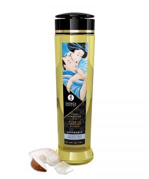 Shunga - Massage Olie - Adorable Coconut - 240 Ml